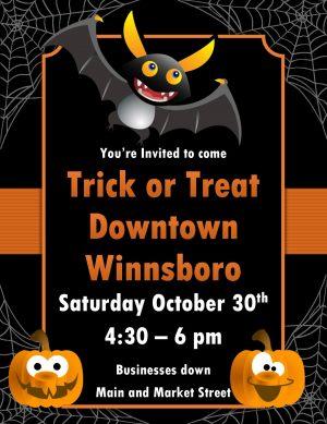 Trick or Treat Winnsboro